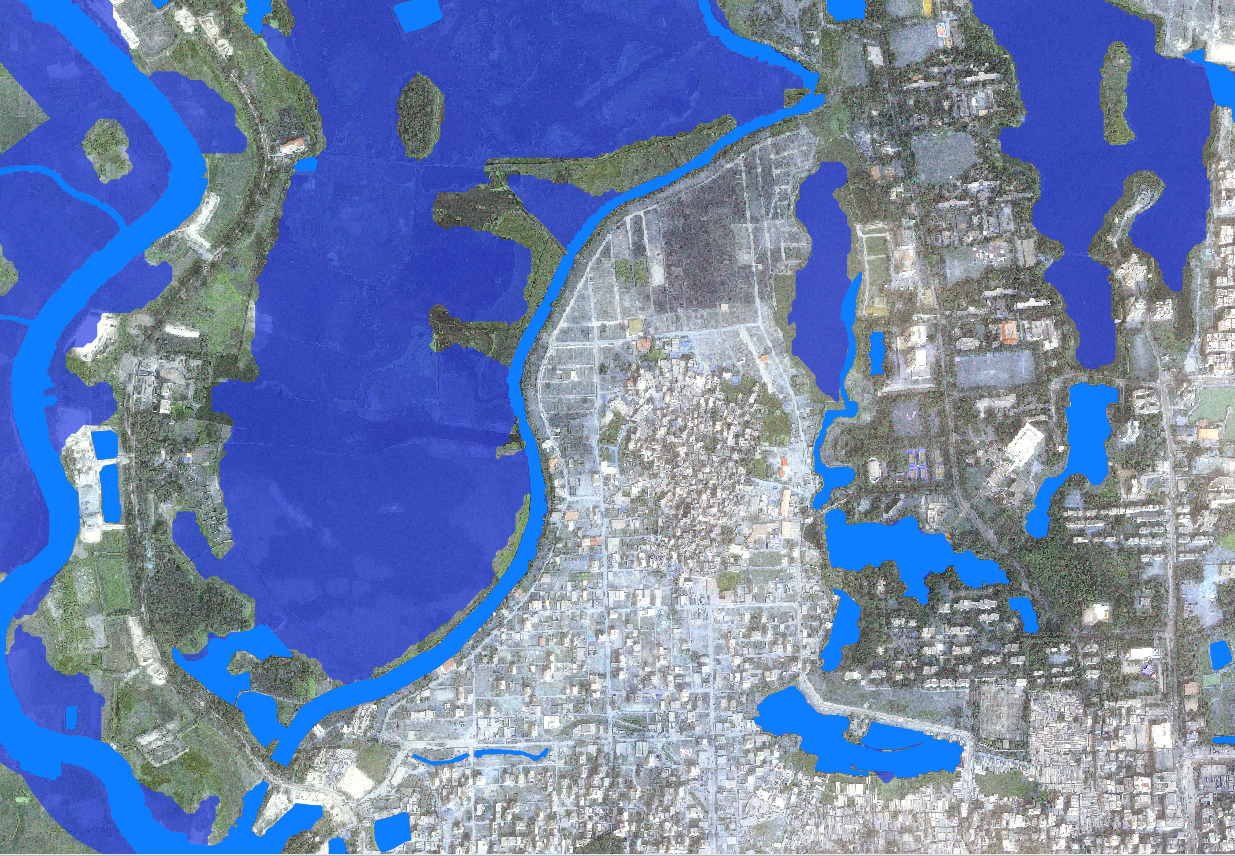 Mapping The Most Recent Flood Events In Dhaka Earth Observation