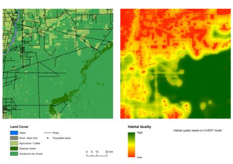 Habitat quality model
